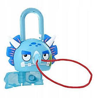 Lock Stars Series 2 - Blue Dinasour Figure