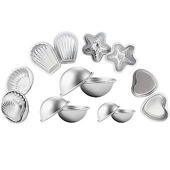 Diy Soap Moulds Aluminum Alloy Hearts Shells Scallops Starfish