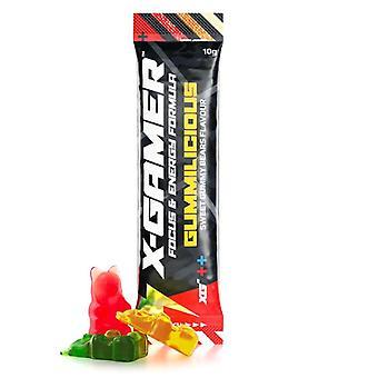 X-Gamer X-Shotz Gummilicious (Gummy Bear Flavoured) Energy Formula - 10g