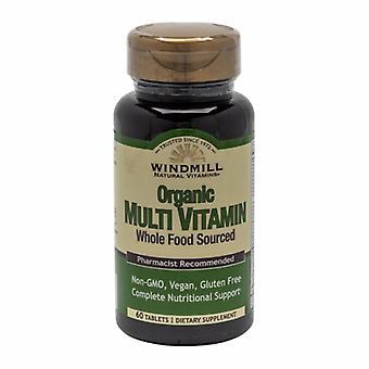 Windmill Health Organic Multivitamin, 60 Tabs