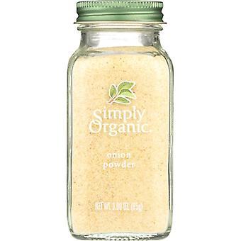 Simply Organic Btl Onion Powder Org, Case of 6 X 3 Oz