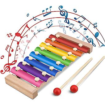 Xylophone With Wooden Mallets For Children