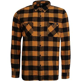 Edwin Labour Heavy Flannel Check Overshirt