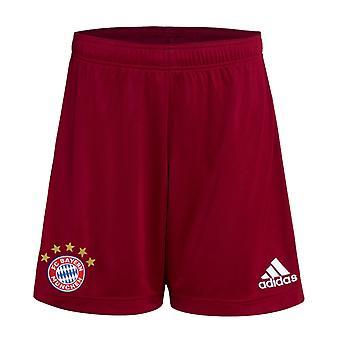2021-2022 Бавария Мюнхен Домашние шорты (Красный) - Дети