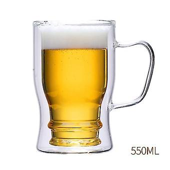 Wine glass charms beer glass upside down christmas gift inverted drinking transparent creative wine glass cup transparent