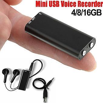 Mini 4/8/16/32gb Digital Voice Activated Recorder Audio Recoder Voice Listening Device