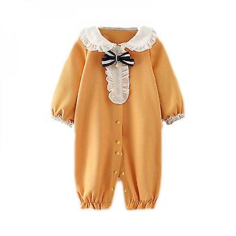 Newborn Infant Baby Jumpsuit Girl Clothes Set Long Sleeve Tops Pants Outfits