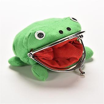 1pcs Hot Sale Frog Wallet Anime Cartoon Coin Purse Manga Flannel Wallet Cute Purse Coin Purse