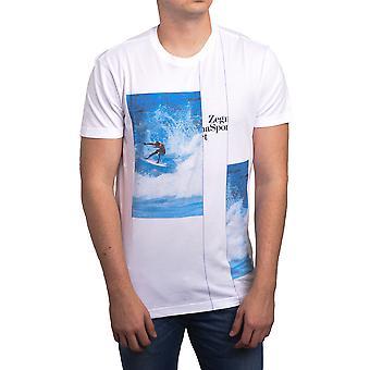 Surf camiseta t-shirt algodão orgânico Zegna Sport Ermenegildo Zegna masculino