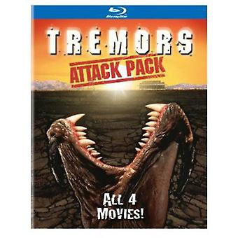Importer des tremblements USA attaque Pack [BLU-RAY]