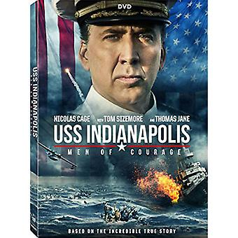 Uss Indianapolis: Men of Courage [DVD] USA import