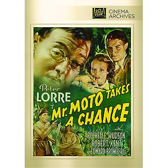Monsieur Moto prend une Chance [DVD] USA import