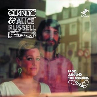 Quantic & Alice Russell - Look Around the Corner [CD] USA import
