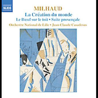 D. Mulhaud - Milhaud: La Cr Ation Du Monde; Le Boeuf Sur Le Toit; Importare Suite USA dimostrato Ale [CD]
