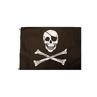 Piratenflagge Piraten Fahne Totenkopf Flagge 92x61cm