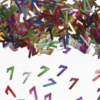 Festa de aniversário de confete do Deco mesa confetes número 7