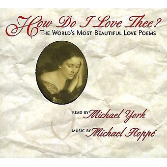 York/Hoppe - How Do I Love Thee? [CD] USA import
