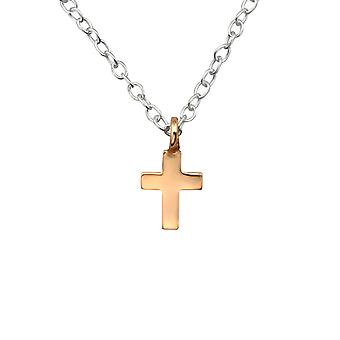 Cross - 925 Sterling Silver Plain Necklaces - W29924x