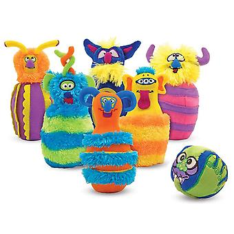 Melissa & Doug Monster Bowling Toy