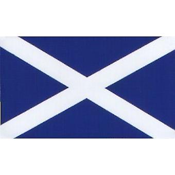 W4 Scotland Flag Rectangle Sticker