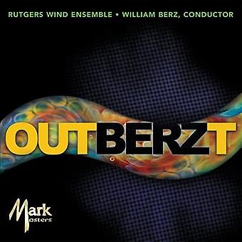 Rutgers Wind Ensemble - Outberzt [CD] USA import