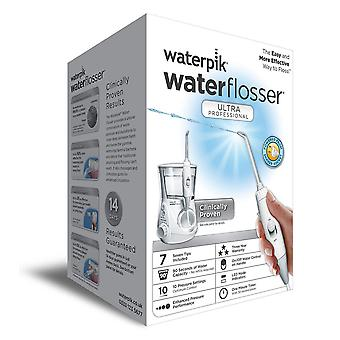 Waterpik WP-660UK acqua professionale Ultra Flosser - White Edition (UK bagno 2-Pin spina)