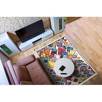 Royal de Marrakech 2188A Mulit Rectangle tapis couvertures traditionnelles