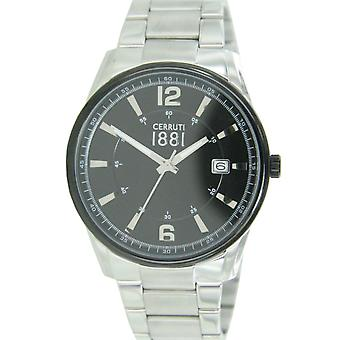 Cerruti 1881 mens watch wristwatch stainless steel CRA103STB02MS