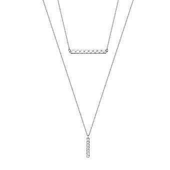 Joop kvinders kæde halskæde rustfrit stål sølv moderne twist JPNL10600A450