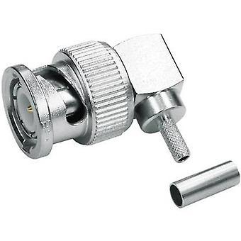 Telegärtner J01000A1257 BNC connector Plug, right angle 50 Ω 1 pc(s)