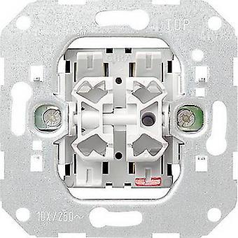 GIRA Insert Series switch Standard 55, E2, Event Tranparent, Event, Event Opaque, Esprit, ClassiX, System 55 010500
