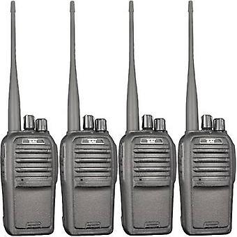 Team Electronic PR8572 TeCom-SL Freenet handheld transceiver 4-delige set