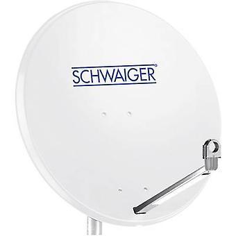 Schwaiger SPI998.0 SAT antenna 75 cm Reflective material: Aluminium Light grey