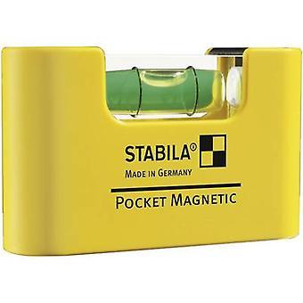 Stabila POCKET magnetische 17774 mini Spirit Level 7 cm 1 mm/m
