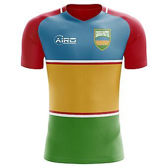2018-2019 Karakalpakië Home Concept voetbalshirt