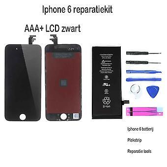 IPhone 6 LCD reparera och uppgradera kit för nybörjare-svart