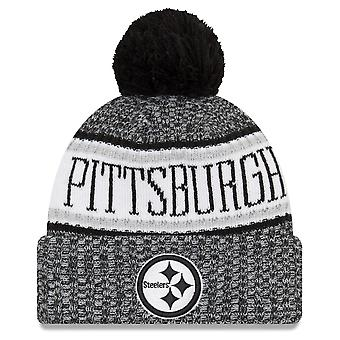 New era NFL sideline 2018 Bobble Hat Pittsburgh Steelers