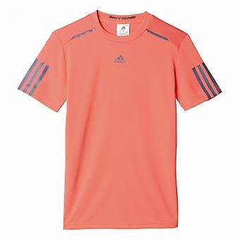 Adidas barricade tennis shirt kids rode AX9619