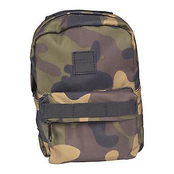 Urban classics - MINI backpack camo backpack wood