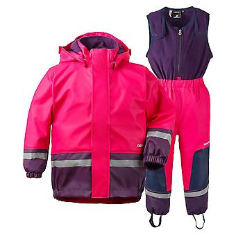 Didriksons Boardman Kids 2 Waterproof Set - Cerise