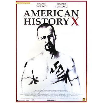 American History X poster Edward Norton, Edward Furlong