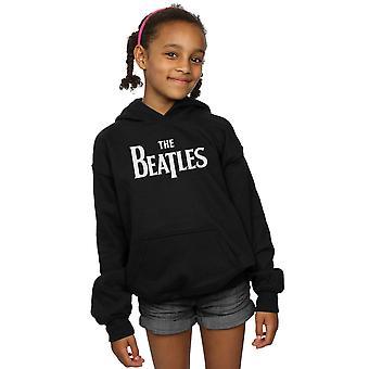 ビートルズ女の子ドロップ T ロゴのパーカー