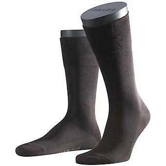 De sokken van Falke Tiago - Brown