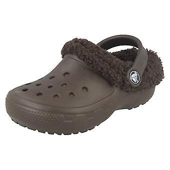 Ragazze Crocs, Slingback inverno zoccoli 'Mammoth EVO'