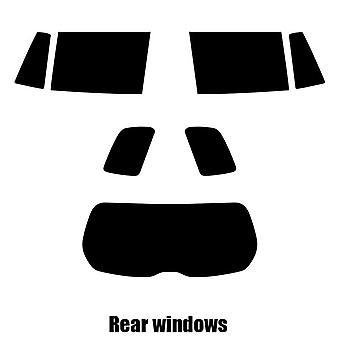 Pre cut window tint - Mazda Premacy MPV - 2000 to 2004 - Rear windows