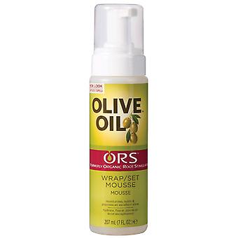 ORS Olive Oil Wrap Mousse 207ml