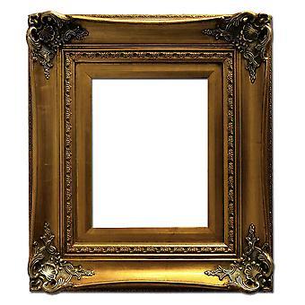 20x25 cm eller 8x10 tommer, fotoramme i guld