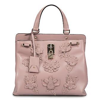 Valentino Medium Joylock øverste håndtag pose i Pink