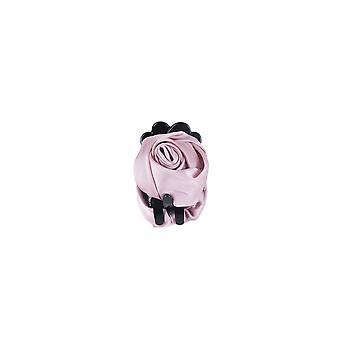Lovemystyle ciemny różowy jedwab Róża zapięcie włosów slajdów