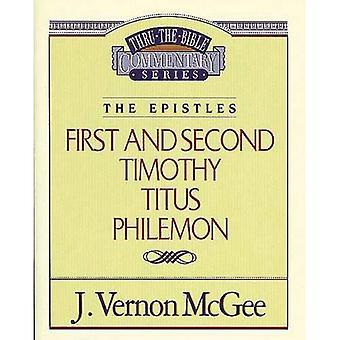 1 & 2 Timotheus / Titus / Philemon (durch die Bibel-Kommentar)